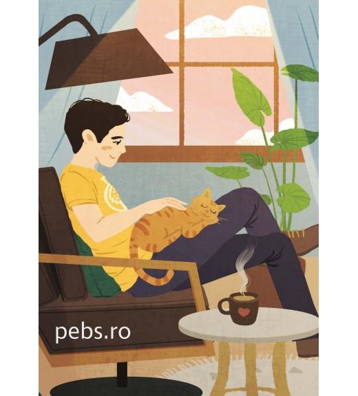 Coffee Cat Boy