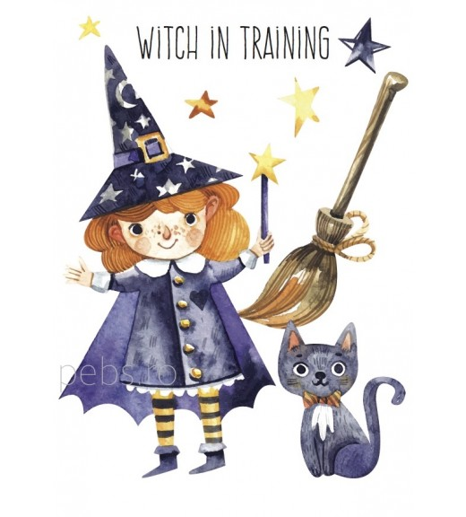 Witch in Training. Felicitare