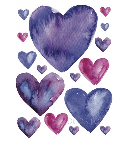 Purple Hearts. Felicitare