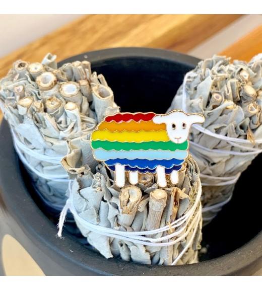 Pin Rainbow Sheep