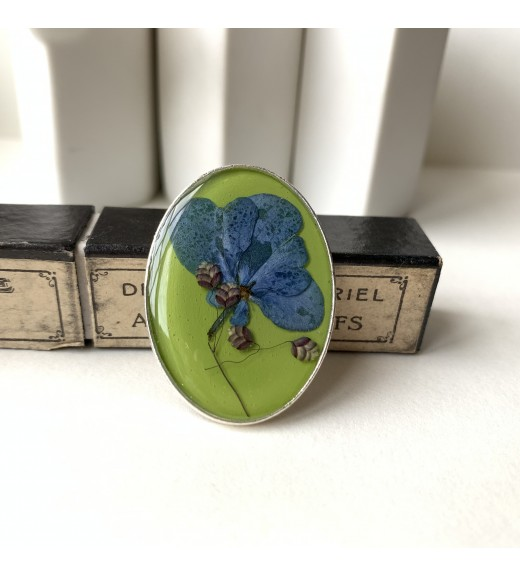 Hydrangea sp. & Briza minima.  Green