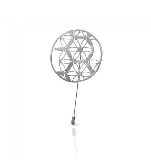 Broșă Lunule de Leonardo da Vinci. Silver imagine