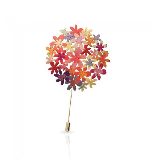 Broșă Bouquet. Gold imagine