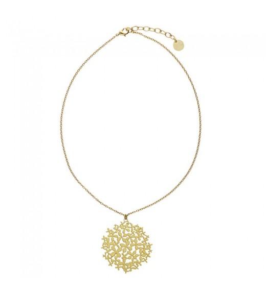 Hortensia Pendant. Gold
