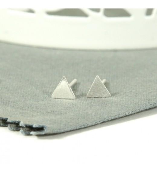 Triangle. Cercei Argint 925