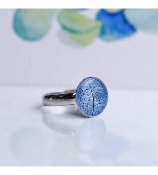 Tilia tomentosa - Nervuri Tei Argintiu. Inel Albastru