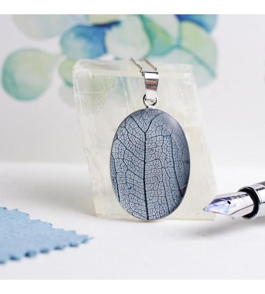 Tilia tomentosa - Tei Argintiu. Pandantiv Blue