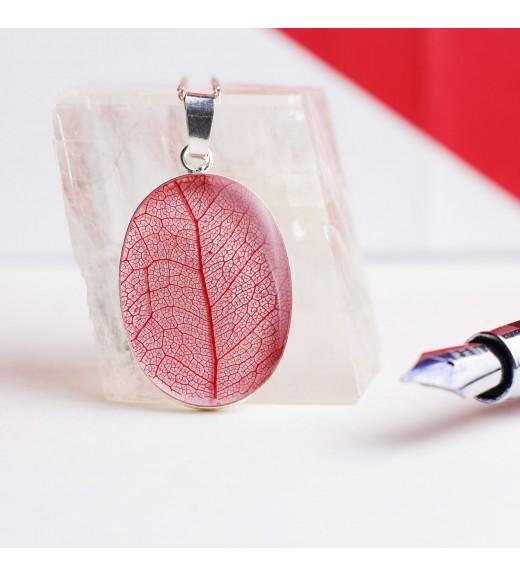 Tilia tomentosa - Tei Argintiu. Red Veins Pandativ