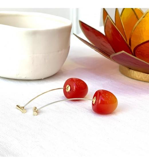 Cireșe Roșii Mini Degrade imagine