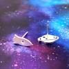 Rocket on Saturn imagine