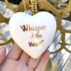 Whisper Of The Heart. Heart Porcelain Decor