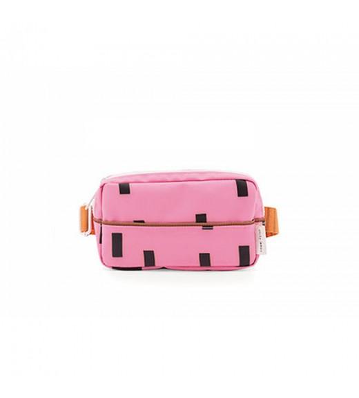 Sticky Lemon Sprinkle Fanny Pack - Bubbly Pink & Carrot Orange