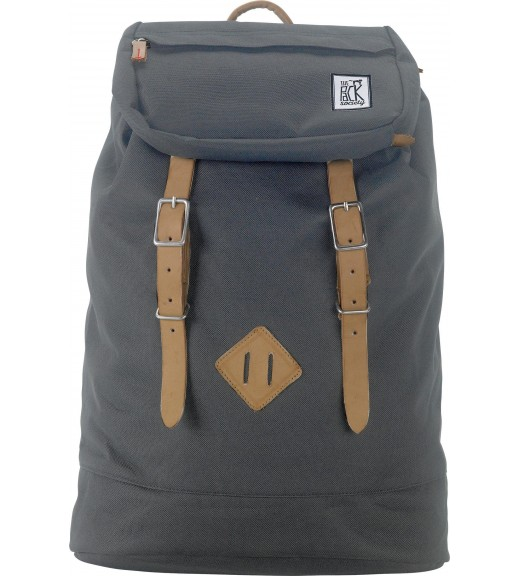Gri. Rucsac Premium. The Pack Society imagine