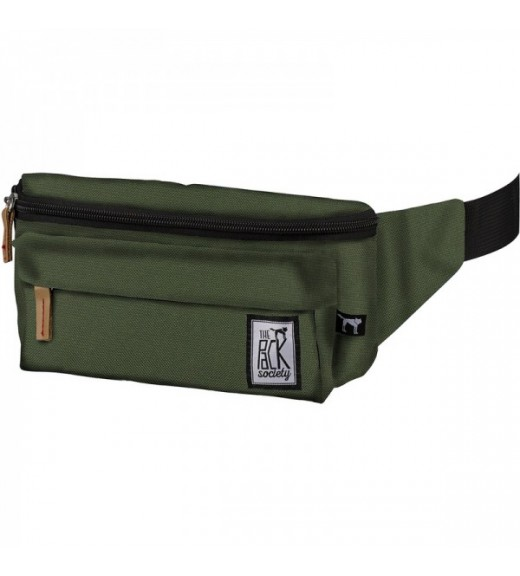 Hip Bag - Green. The Pack Society