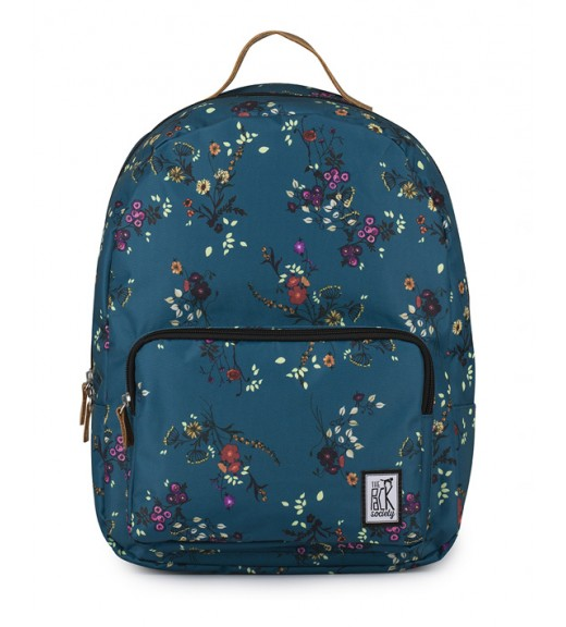 Backpack - Blue Floral. The Pack Society
