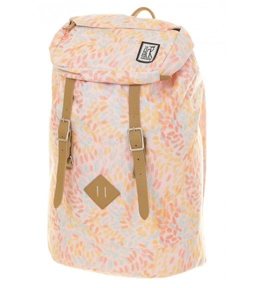 Rucsac Premium -Blue Floral. The Pack Society