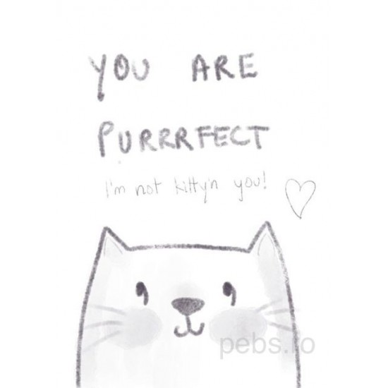 you are purrrfect giftcard