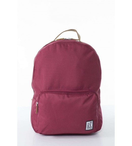 Burgundy Rucsac Clasic. Pack Society imagine