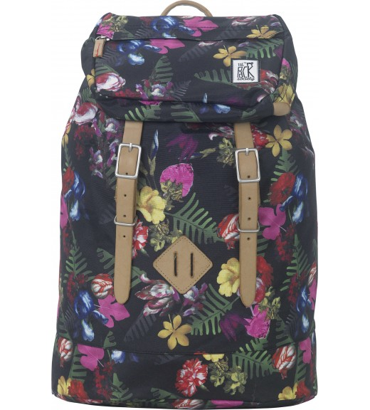 Floral Rucsac Premium. The Pack Society imagine